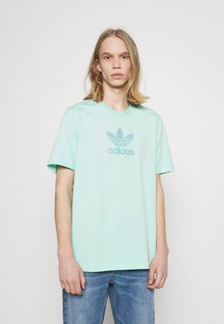 adidas Originals - TREF SERIES TEE UNISEX - Camiseta estampada - clear mint