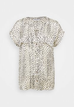 NAF NAF - HIQUELOU IMPRIMEE  - Bluse - blanc
