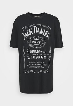 Jack & Jones - JPRBRANTLY TEE CREW NECK - T-shirt imprimé - caviar