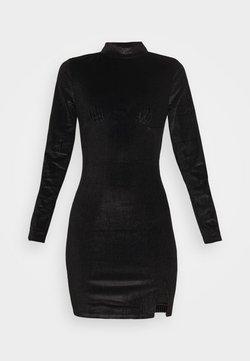 Glamorous - LONG SLEEVE DRESS - Etui-jurk - black