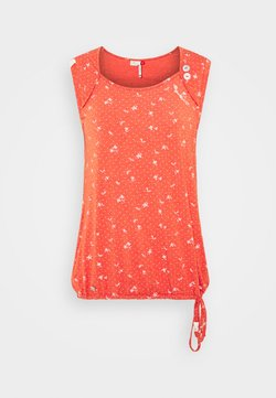 Ragwear - MIKE - T-Shirt print - chili red