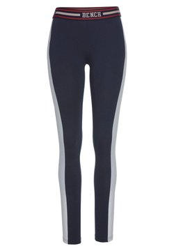 Bench - Tights - navy-dunkelblau-weiß