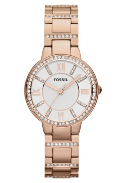 Fossil - VIRGINIA - Montre - rosegold-coloured