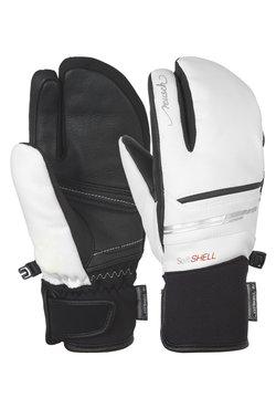 Reusch - TOMKE STORMBLOXX™ LOBSTER - Fäustling - white / black