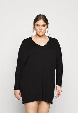 New Look Curves - BATWING MINI - Etuikleid - black