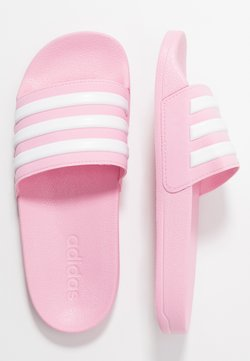 adidas Performance - ADILETTE SHOWER - Badesandaler - true pink/footwear white