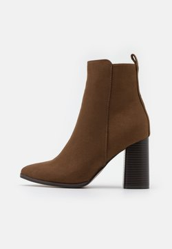 ONLY SHOES - ONLBRODIE LIFE HEELED BOOTIE   - High Heel Stiefelette - khaki