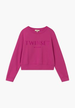 TWINSET - GIROCOLLO - Sweater - fuxia scuro