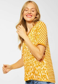 Street One - IM PRINTMIX - T-Shirt print - gelb