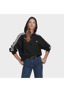 adidas Originals - SHORT HOODIE - Bluza z kapturem - black