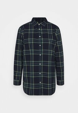 Benetton - Button-down blouse - navy