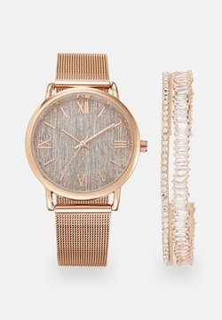 Anna Field - SET - Uhr - rose gold-coloured
