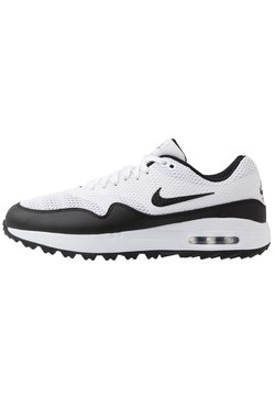 Nike Golf - AIR MAX 1 G - Golfschoenen - white/black