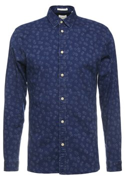 Selected Homme - SLHSLIMSEAMUS - Camisa - dark blue