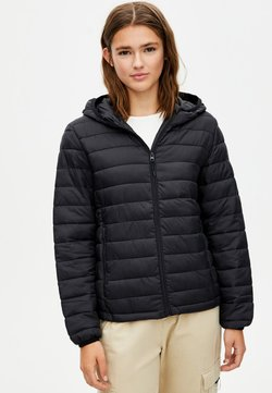 PULL&BEAR - Winterjas - black