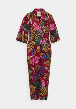 Farm Rio - EMBROIDERED BANANAS JUMPSUIT - Combinaison - multi