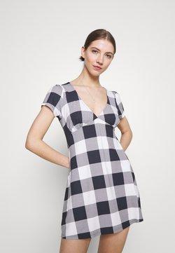 Obey Clothing - RIVIERA DRESS - Freizeitkleid - navy/multi