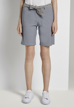 TOM TAILOR - BERMUDA - Shortsit - thin stripe pants