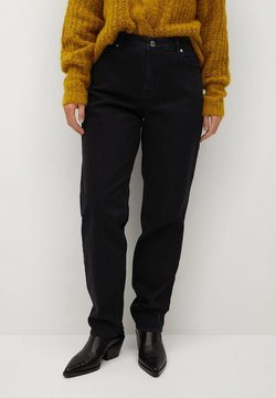 Violeta by Mango - ELY - Jeans Relaxed Fit - black denim