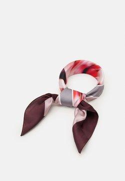 Calvin Klein - BANDANA - Foulard - red/multi-coloured