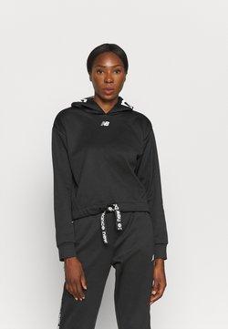 New Balance - RELENTLESS TRAIN LAYER - Sweatshirt - black