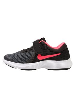 Nike Performance - REVOLUTION 4 - Juoksukenkä/neutraalit - black/white/racer pink