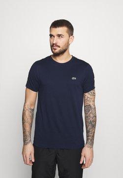 Lacoste Sport - T-shirt imprimé - navy blue/black