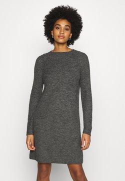 ONLY - ONYSALLIE DRESS - Neulemekko - dark grey melange