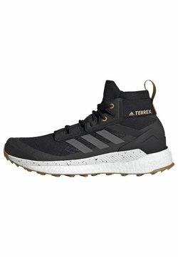 adidas Performance - TERREX FREE HIKER PRIMEBLUE WANDERSCHUH - Hikingschuh - black