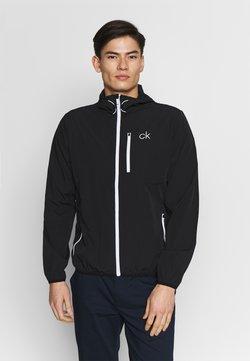 Calvin Klein Golf - ULTRA LITE JACKET - Veste de survêtement - black