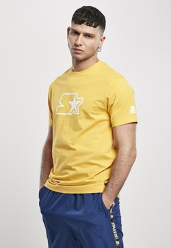 Starter - T-shirt print - golden