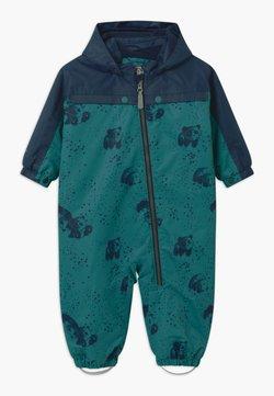 Color Kids - DOTS UNISEX - Schneeanzug - dark green/dark blue