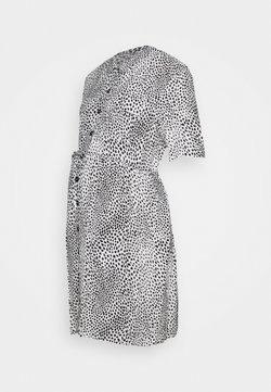 Topshop Maternity - GRUNGE DRESS - Blusenkleid - mono