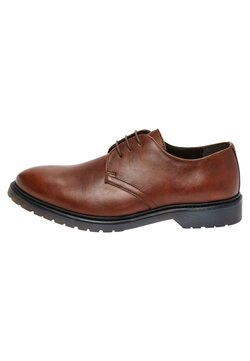 Next - TAN CLEATED SOLE LEATHER DERBY SHOES - Business-Schnürer - brown
