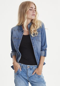 PULZ - PZJOSIE  - Koszula - light blue denim