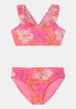 GAP - GIRL RUFFLE SET - Bikini - neon impulsive pink