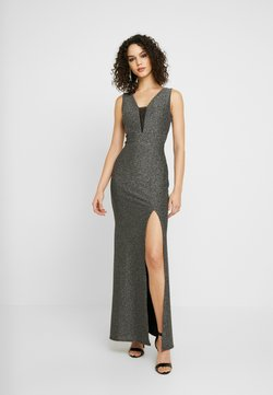 WAL G. - WITH NECK LINE - Ballkleid - silver