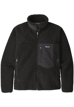 Patagonia - CLASSIC RETRO - Fleecejacke - black in black