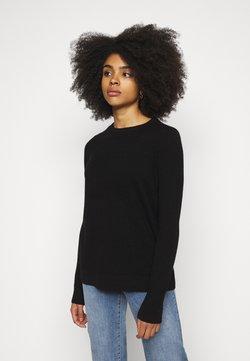 Vero Moda Petite - VMDOUCE FRENCH O NECK - Pullover - black
