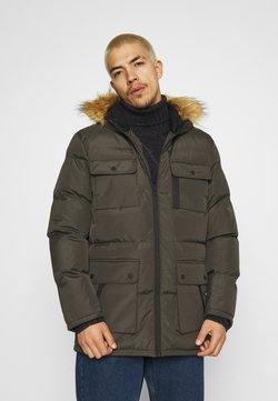 Brave Soul - EVEREST - Wintermantel - khaki