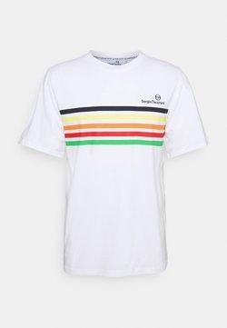 Sergio Tacchini - MELFI - T-Shirt print - white