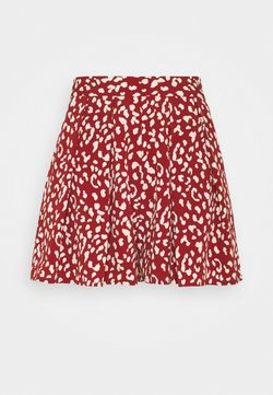 Colourful Rebel - KENDALL LEOPARD - Shorts - red
