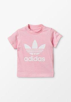 adidas Originals - TREFOIL UNISEX - T-shirt print - pink/white