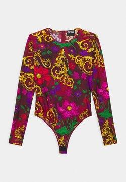 Versace Jeans Couture - Bluzka z długim rękawem - rosso scuro