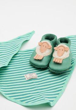 POLOLO - GIFT SCHAF UNISEX SET - Cadeau de naissance - grün