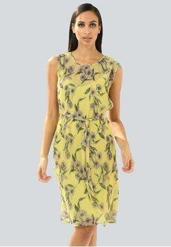 Alba Moda - Freizeitkleid - gelb,flieder