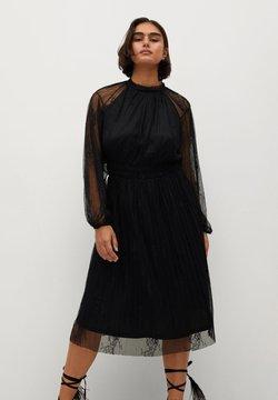 Violeta by Mango - VICTORIA - Cocktailkleid/festliches Kleid - schwarz