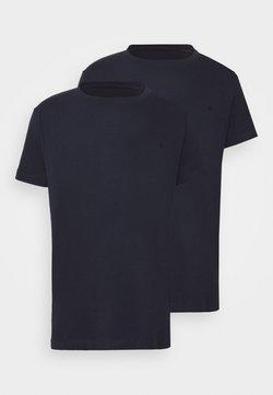 Replay - 2 PACK - Basic T-shirt - navy/navy