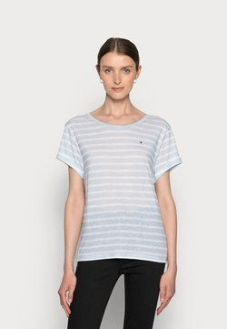 Tommy Hilfiger - RELAXED - T-Shirt print - blue