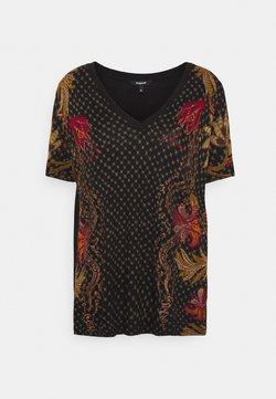 Desigual - PRAGA - T-Shirt print - black